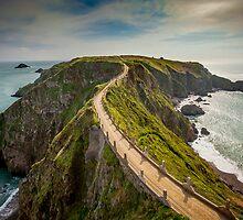 Sark Landscape - La Coupe by fiorephoto
