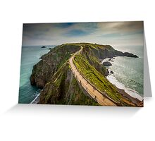 Sark Landscape - La Coupe Greeting Card