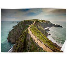 Sark Landscape - La Coupe Poster
