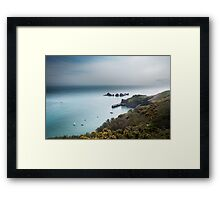 Sark Landscape - Visitors Harbour Framed Print