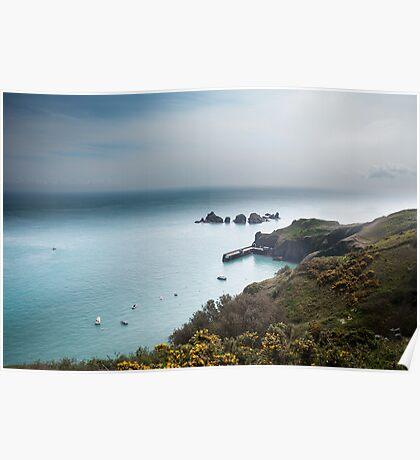 Sark Landscape - Visitors Harbour Poster