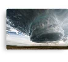Supercell Canvas Print