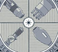 Arm Cannon Association Sticker