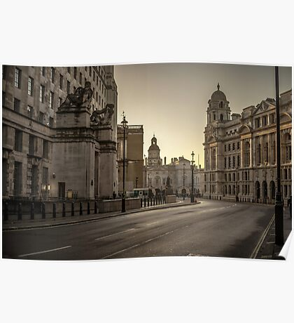 Beautiful Architecture London Poster