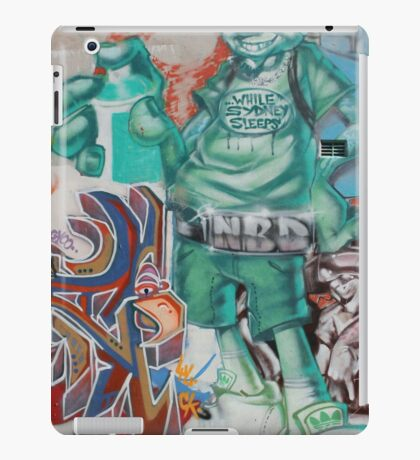 Newtown Graffiti iPad Case/Skin