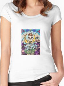 Night Queen Women's Fitted Scoop T-Shirt