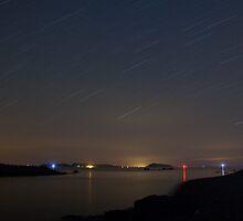 Channel Island Landscape Stars by fiorephoto