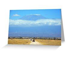 Mount Kilimanjaro Greeting Card