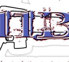 11Bravo - Combat Infantry - Vietnam Veteran Sticker