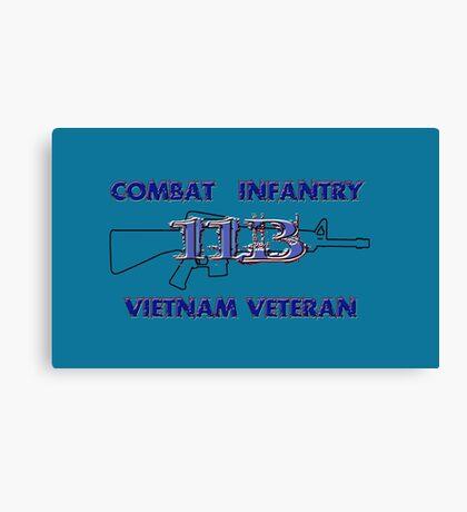 11Bravo - Combat Infantry - Vietnam Veteran Canvas Print