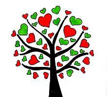 Tree of Hearts by samandoliver