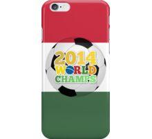 2014 World Champs Ball - Hungary iPhone Case/Skin