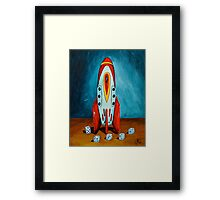 Count Down  Framed Print