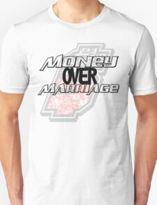 Money over Marriage White Tee T-Shirt