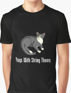 Plays With String Theory Graphic T-Shirt