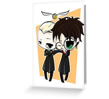 Draco & Harry Greeting Card