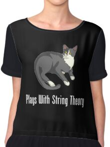 Plays With String Theory Chiffon Top