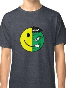 Happy Hulk Face Classic T-Shirt