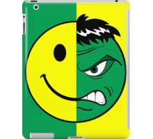 Happy Hulk Face iPad Case/Skin