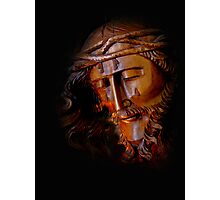 The Savior Weeps Photographic Print
