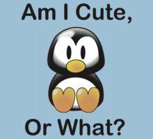 Am I Cute, Or What? Kids Tee