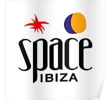 space ibiza shirt Poster