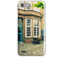 Bremen Schnoor Cafe iPhone Case/Skin