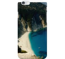 Myrtos Beach Kefalonia iPhone Case/Skin