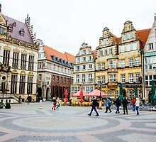 Bremen Main Square by PatiDesigns