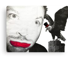 """Is that hawk bigger than your face """"classy"""" Canvas Print"""