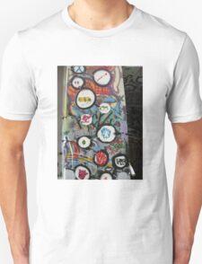 very colourful graffiti icons Unisex T-Shirt