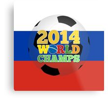 2014 World Champs Ball - Russia Metal Print