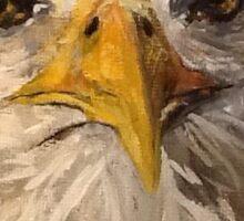 Eagle Portrait Sticker