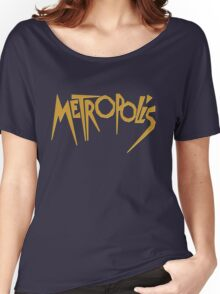 Metropolis (1927) Movie Women's Relaxed Fit T-Shirt