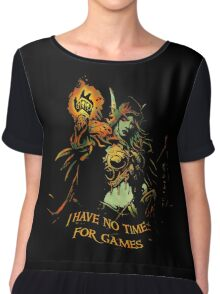 No Time for Games Chiffon Top