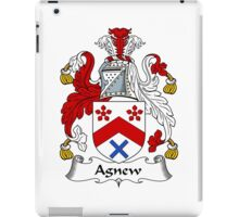 Agnew Coat of Arms / Agnew Family Crest iPad Case/Skin