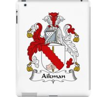 Aikman Coat of Arms / Aikman Family Crest iPad Case/Skin