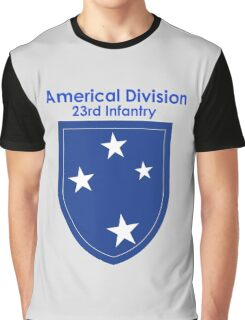 Americal Division - 23rd Infantry Graphic T-Shirt