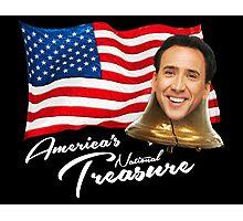 America's National Treasure - White Text Photographic Print