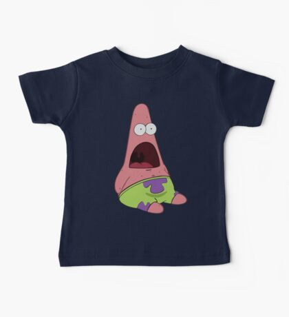 Surprised Patrick Star  Baby Tee