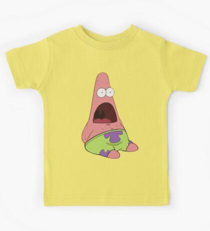 Surprised Patrick Star  Kids Tee