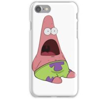 Surprised Patrick Star  iPhone Case/Skin