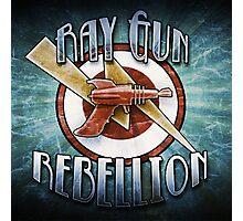 Logo - Ray Gun Rebellion Photographic Print