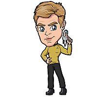 Star Trek Reboot - Captain James T. Kirk Chris Pine Photographic Print