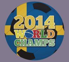 2014 World Champs Ball - Sweden Kids Clothes