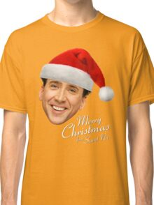 Merry Christmas from St Nic-olas Cage Classic T-Shirt