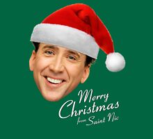 Merry Christmas from St Nic-olas Cage Unisex T-Shirt