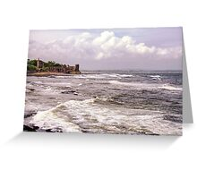 St Andrews Castle Greeting Card