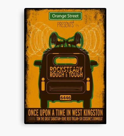Rocksteady Rough & Tough Canvas Print