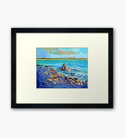 Noosa Rocks, Noosa National Park Framed Print